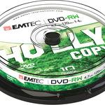 Emtec DVD-RW 4,7GB/120 Min 10er Spindel