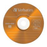 Verbatim DVD+RW 4,7GB/120 Min 5er Jewel Case 43297