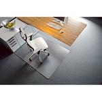 RS Bodenschutzmatte Rollsafe® 120 x 180 cm (B x T) Makrolon®, 100 % recycelbar transparent