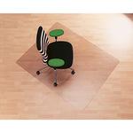 RS Bodenschutzmatte Roll-o-Grip® 200 x 120 cm (B x T) Makrolon®, 100 % recycelbar transparent