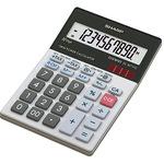 Sharp Tischrechner EL-M711GGY 100 x 33 x 151,5 mm (B x H x T) Solar-Energie, Batterie schwarz/weiß