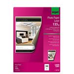 Sigel Fotopapier DIN A4 21 x 29,7 cm (B x H) 135g/m² hochweiß hochglänzend 100 Bl./Pack.