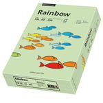 Rainbow Multifunktionspapier Color DIN A4 120g/m² mittelgrün 250 Bl./Pack.