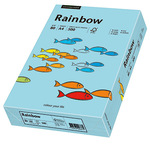 Rainbow Multifunktionspapier Color DIN A4 80g/m² mittelblau 500 Bl./Pack.