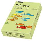 Rainbow Multifunktionspapier Color DIN A4 160g/m² leuchtgrün 250 Bl./Pack.