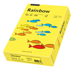 Rainbow Multifunktionspapier Color DIN A4 120g/m² mittelgelb 250 Bl./Pack.