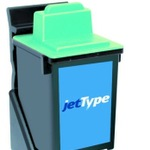 jetType Alternativ kompatibel zu Lexmark 17G0060 Tinte color
