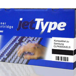 jetType Toner kompatibel zu Samsung CLPK600A/ELS