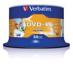 Verbatim DVD-R 4,7GB/120 Min 50er Spindel 43533