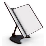 Tarifold® Sichttafelständer 3D Polypropylen, Metall 5 Sichttafeln schwarz