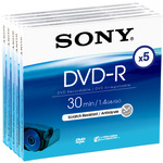 Sony 8 cm DVD-R 1,460GB/20 Min Jewel Case