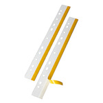 Veloflex Heftstreifen HEFTFIX® 2,5 x 29,2 cm (B x L) Polyester glasklar 10 St./Pack.