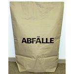 Müllsack 75 x 95 cm (B x H) 120l Papier natronbraun 25 St./Pack.