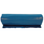 Müllsack 70 x 110 cm (B x H) 80µm 120l Polyethylen blau 15 St./Rl.