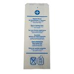 WBV Hygienebeutel 11+ 6 x 29 cm (B x L) Papier 100 St./Pack.