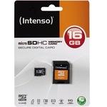 Intenso 3403470 - Flash-Speicherkarte ( microSDHC/SD-Adapter inbegriffen ) 3403470