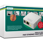 DIGITUS PRINTSERVER FAST ETHERNET, 1-PORT PARALLEL DN-13001-1