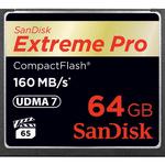 SanDisk Extreme Pro CompactFlash (CF Typ 1 / CF+) 64 GB SDCFXPS-064G-X46