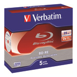 Verbatim BD-RE 25GB 5er Jewel Case 43615