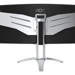 Schwarz/Silber Gaming AGON series AOC 35 Zoll