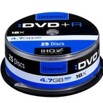 Intenso DVD+R 4,7GB/120 Min 25er Spindel 4111154