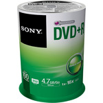 Sony DVD+R 4,7GB/120 Min 100er Spindel 100DPR47SP