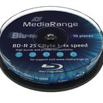 MediaRange BD-R 25GB 10er Spindel MR499