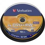 Verbatim DVD+RW 4,7GB/120 Min 10er Spindel 43488