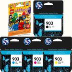HP Tinte Multipack T6L99/87/91/95AE 903 -