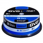 Intenso DVD+R Double Layer 8,5GB/240 Min 25er