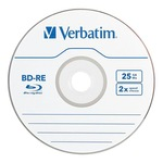 Verbatim BD-RE 25GB 10er Spindel 43694