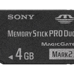 Sony Flash-Speicherkarte MSMT4GN - 4 GB - Memory Stick PRO Duo Mark2 MSMT4GN