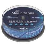MediaRange BD-R 25GB 25er Spindel MR503