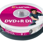 Xlyne DVD+R Double Layer 8,5GB/240 Min 10er