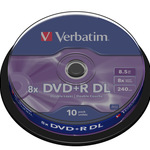 Verbatim DVD+R Double Layer 8,5GB/240 Min 10er