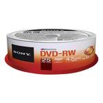 Sony DVD-RW 4,7GB/120 Min 25er Spindel 25DMW47SP