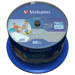 Verbatim BD-R 25GB 50er Spindel 43812 bedruckbar