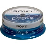 Sony DVD-R 4,7GB/120 Min 25er Spindel 25DMR47SP