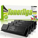 Cartridgeweb Toner 4er-Pack kompatibel zu Kyocera/Mita 1T02H20EU0 TK130