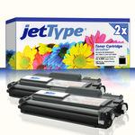 jetType Toner Doppelpack kompatibel zu Brother