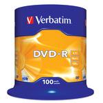 Verbatim DVD-R 4,7GB/120 Min 100er Spindel 43549