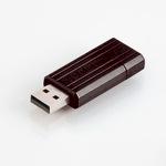 Verbatim USB Stick 4GB 49061 Store 'n' Go Pin Stripe USB Drive USB 2.0 schwarz
