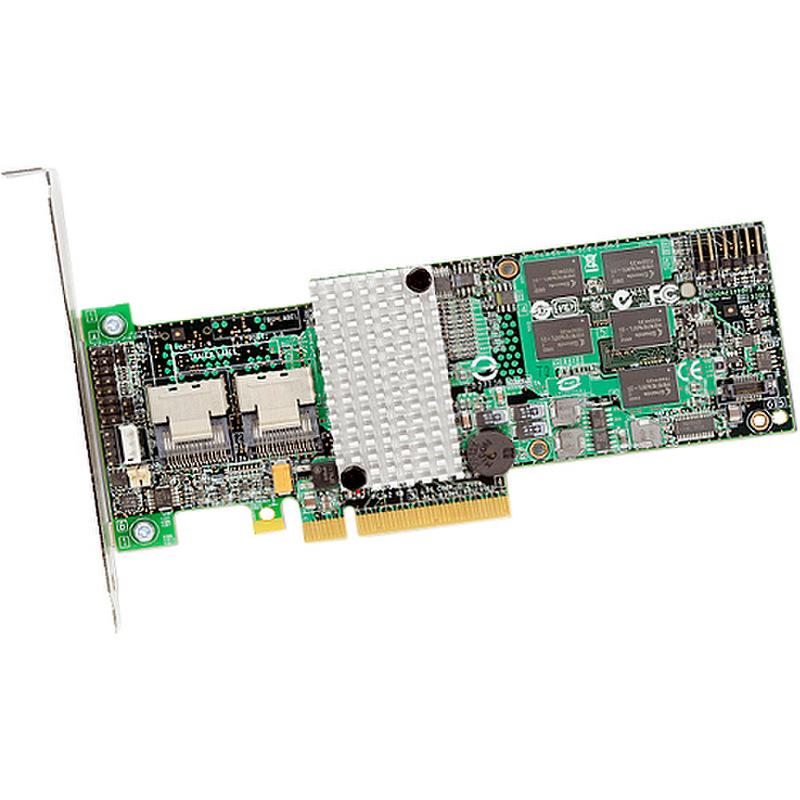 Модель MegaRAID SAS 9260-4i . . SAS/Serial ATA RAID5 контроллер с аппаратн