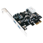 MHE M-CAB PCI Express USB 3.0 Karte - USB-Adapter - PCI Express 2.0 x1 Low Profile 7100090