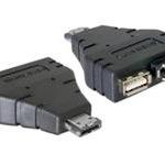 DeLOCK Power Over ESATA adapter, 65119