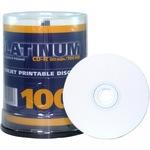 Platinum CD-R 700MB/80 Min 100er Spindel bedruckbar Inkjet weiß