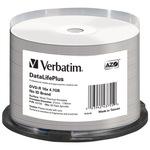 Verbatim 50pack 43755 spindle printable thermo
