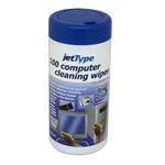 jetType cleaning wipes wet