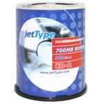 jetType CD-R 700MB/80 Min 100er Spindel