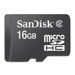 SanDisk SD (Secure Digital) 16GB SDSDQM-016G-B35A microSDHC Class 2